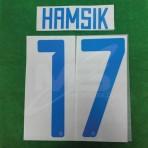 Official HAMSIK #17 SSC NAPOLI Away 2018-19 PRINT