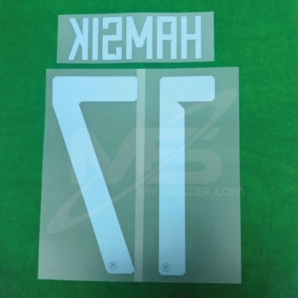 Official HAMSIK #17 SSC NAPOLI Away 2018-19 PRINT