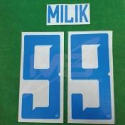 Official MILIK #99 SSC NAPOLI Away 2018-19 PRINT
