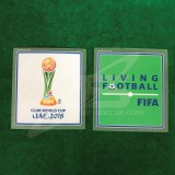 Official FIFA CLUB WORLD CUP UAE 2018 + LIVING FOOTBALL Patches