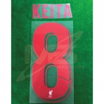 Official KEITA #8 Liverpool FC 3rd CUP UCL 2018-19 PRINT