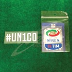 Official #UN1CO + Italian Calcio SERIE A TIM Player Size 2017-18 Sleeve Patch
