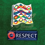 Official UEFA NATIONS LEAGUE 2018-19 + RESPECT Patches