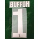 Official BUFFON #1 Juventus Home 2018-19 PRINT