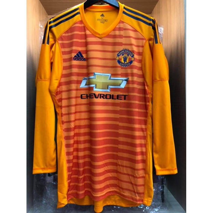 2a6666acdab ADIDAS Manchester United 3rd Goalkeeper GK 2018-19 Jersey