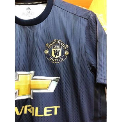 ADIDAS CLIMACHILL PLAYER VERSION Manchester United 3rd AUTHENTIC 2018-19 Jersey