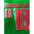 Official PLAYER ISSUE S.CHANATHIP #18 Thailand Home 2019 PRINT