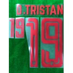 Official PLAYER ISSUE D.TRISTAN #19 Thailand Home 2019 PRINT