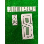 Official PLAYER ISSUE P.THITIPHAN #8 Thailand Away 2019 PRINT