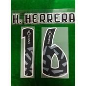 Official H.HERRERA #16 FC Porto Away 2018-19 PU PRINT