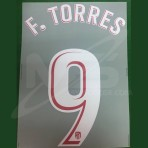 OFFICIAL F.TORRES #9 Atletico Madrid Home 2017-18 PRINT