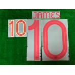 Official JAMES #10 Colombia Home 2019-2020 COPA 2019 PRINT