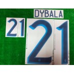 Official DYBALA #21 Argentina Home 2019-2020 COPA AMERICA 2019 PRINT