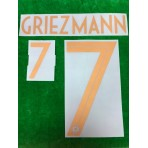 Official GRIEZMANN #7 France Home Centenary 2019 PRINT