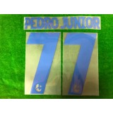 Official PEDRO JUNIOR #77 BURIRAM UNITED AWAY 2019 THAI LEAGUE 1 PLAYER PRINT