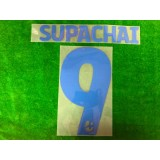 Official SUPACHAI #9 BURIRAM UNITED AWAY 2019 THAI LEAGUE 1 PLAYER PRINT