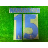Official NARUBADIN #15 BURIRAM UNITED AWAY 2019 THAI LEAGUE 1 PLAYER PRINT