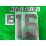 Official NARUBADIN #15 BURIRAM UNITED AWAY 2019 ACL PLAYER PRINT
