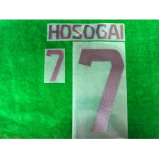 Official HOSOGAI #7 BURIRAM UNITED AWAY 2019 ACL PLAYER PRINT