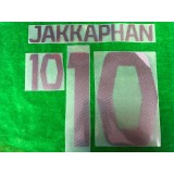 Official JAKKAPHAN #10 BURIRAM UNITED AWAY 2019 ACL PLAYER PRINT