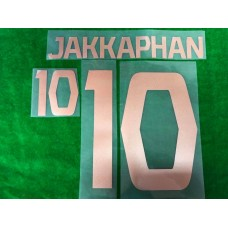 Official JAKKAPHAN #10 BURIRAM UNITED HOME 2019 ACL PLAYER PRINT