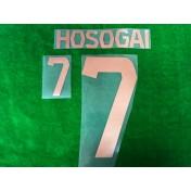Official HOSOGAI #7 BURIRAM UNITED HOME 2019 ACL PLAYER PRINT