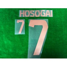 Official HOSOGAI #7 BURIRAM UNITED HOME 2019 ACL PLAYER PRINT