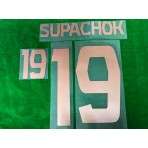 Official SUPACHOK #19 BURIRAM UNITED HOME 2019 ACL PLAYER PRINT