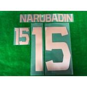 Official NARUBADIN #15 BURIRAM UNITED HOME 2019 ACL PLAYER PRINT