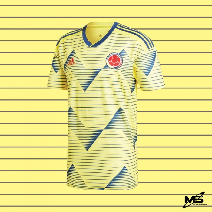 PLAYER VERSION ADIDAS CLIMACHILL COLOMBIA FA Home 2019 2020