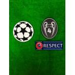 Official UEFA UCL AFC AJAX UCL 2018-19 Senscilia Patches