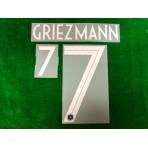 Official GRIEZMANN #7 France Home 2018-19 2-star PRINT