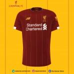 NEW BALANCE Liverpool Home 2019-2020 EURO STADIUM Jersey
