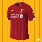 NEW BALANCE Liverpool Home 2019-2020 STADIUM Jersey