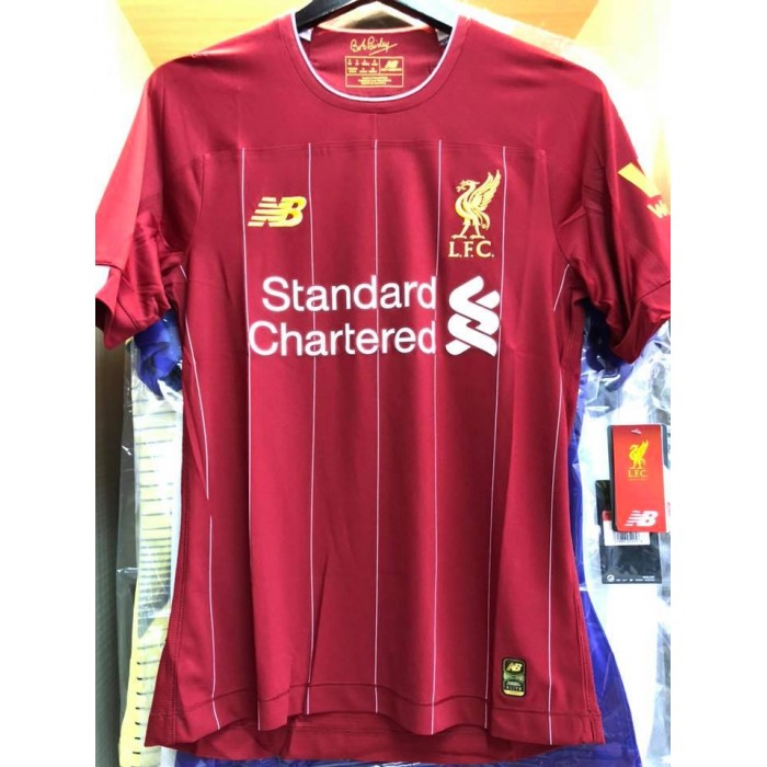 brand new 3c46d ed6ab ELITE PLAYER ISSUE NEW BALANCE Liverpool FC Home 2019-2020 ...