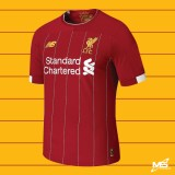 ELITE PLAYER ISSUE NEW BALANCE Liverpool FC Home EURO 2019-2020  Jersey