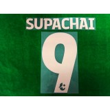 Official SUPACHAI #9 BURIRAM UNITED Home 2019 THAI LEAGUE 1 PLAYER PRINT