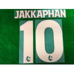 Official JAKKAPHAN #10 BURIRAM UNITED Home 2019 THAI LEAGUE 1 PLAYER PRINT