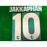 Official JAKKAPHAN #10 BURIRAM UNITED Home 2019 THAI LEAGUE 1 PLAYER PRINT