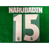 Official NARUBADIN #15 BURIRAM UNITED 3rd 2019 THAI LEAGUE 1 PLAYER PRINT