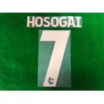 Official HOSOGAI #7 BURIRAM UNITED 3rd 2019 THAI LEAGUE 1 PLAYER PRINT