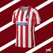 NIKE ATLETICO MADRID FC Home 2019-2020 STADIUM  Jersey