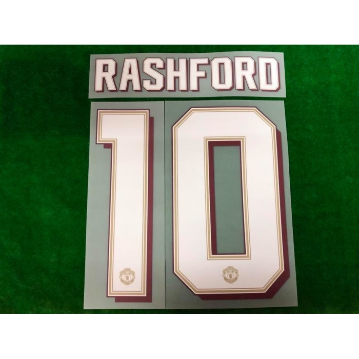 purchase cheap 2a9e5 70f31 Official PLAYER ISSUE RASHFORD #10 Manchester United HOME ...
