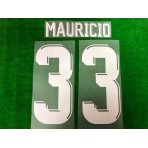 Official PLAYER ISSUE MAURICIO #33 JDT HOME ACL 2019 PRINT