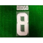 Official PLAYER ISSUE DIOGO #8 JDT HOME ACL 2019 PRINT