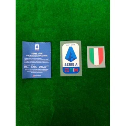 Official Juventus Serie A Tim Scudeto 2019 2020 Player Size Patches