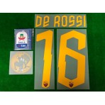 Official DE ROSSI #16 AS ROMA DDR16 Testimonial Set