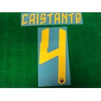 Official CRISTANTE #4 AS ROMA Home 2019-2020 PRINT