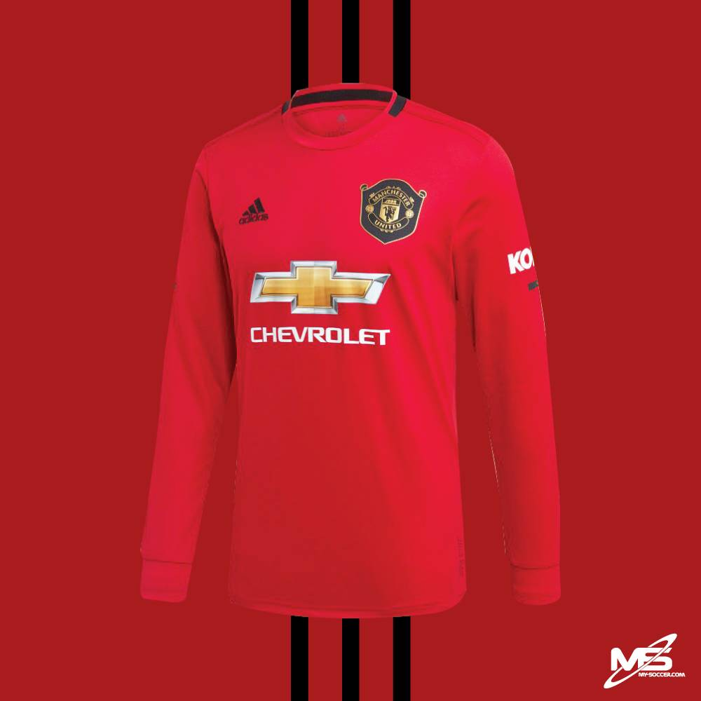 ADIDAS Manchester United FC HOME LONG SLEEVES 2019 20 Jersey