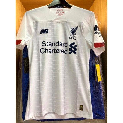 ELITE PLAYER ISSUE NEW BALANCE Liverpool FC Away 2019-2020 Jersey